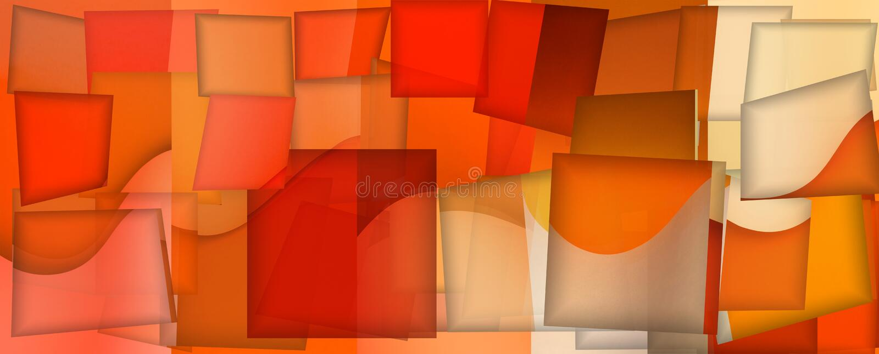 Abstrakter Hintergrund von Linien und von rechteckigen geometrischen Formen lizenzfreie abbildung