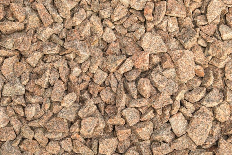 Abstrakter Hintergrund von zerquetschtem Granit lizenzfreie stockfotografie