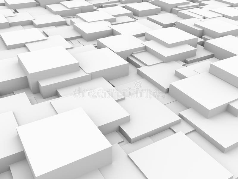 Abstrakter Hintergrund - Würfel lizenzfreie abbildung