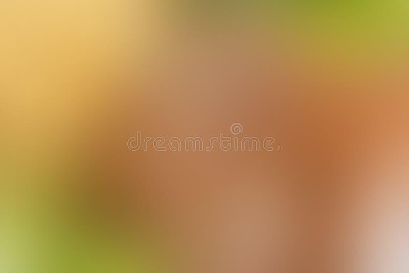 Abstrakter Hintergrundherbst der Steigung, Laub, Orange, Gelb, Braun, mit Kopienraum stock abbildung