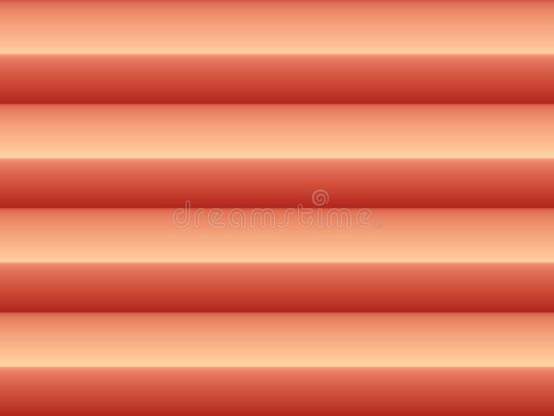 Abstrakter horizontaler Hintergrund stock abbildung