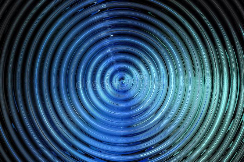 Abstrakter hypnotischer Hintergrund vektor abbildung