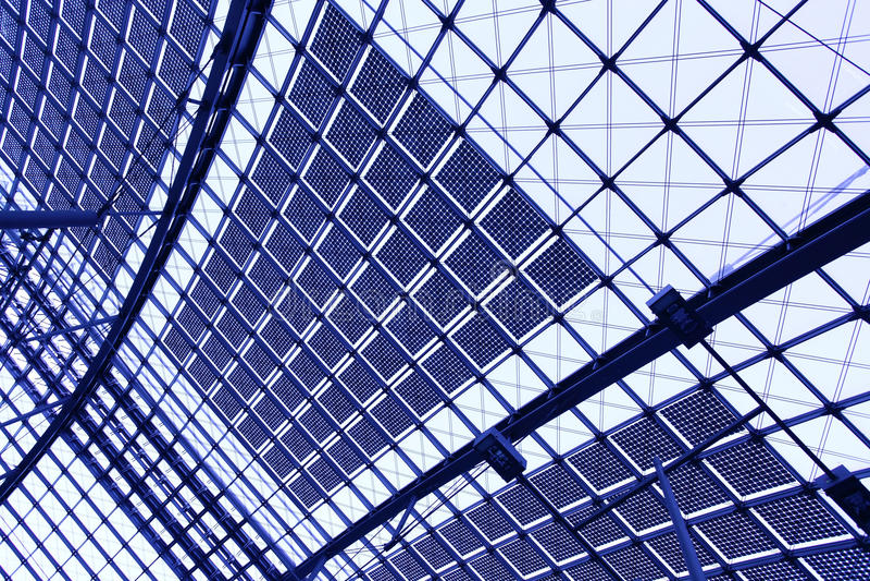 Abstrakter industrieller Hintergrund stockfotos