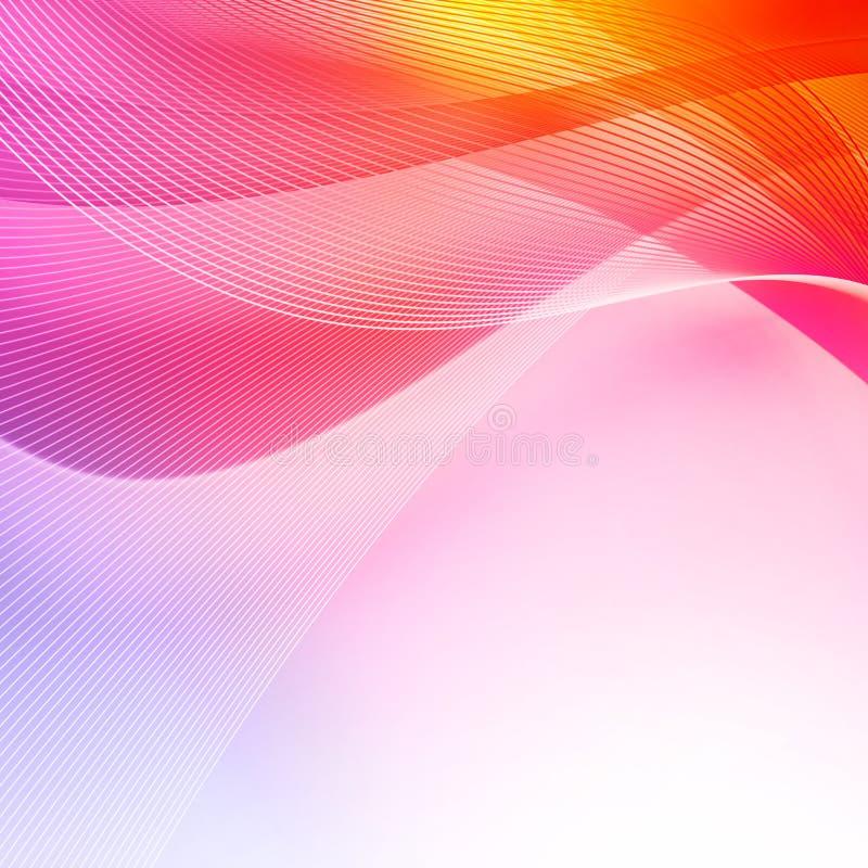 Abstrakter irisierender Hintergrund stock abbildung
