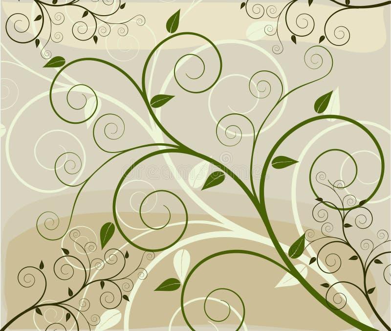 Abstrakter künstlerischer Hintergrund stock abbildung