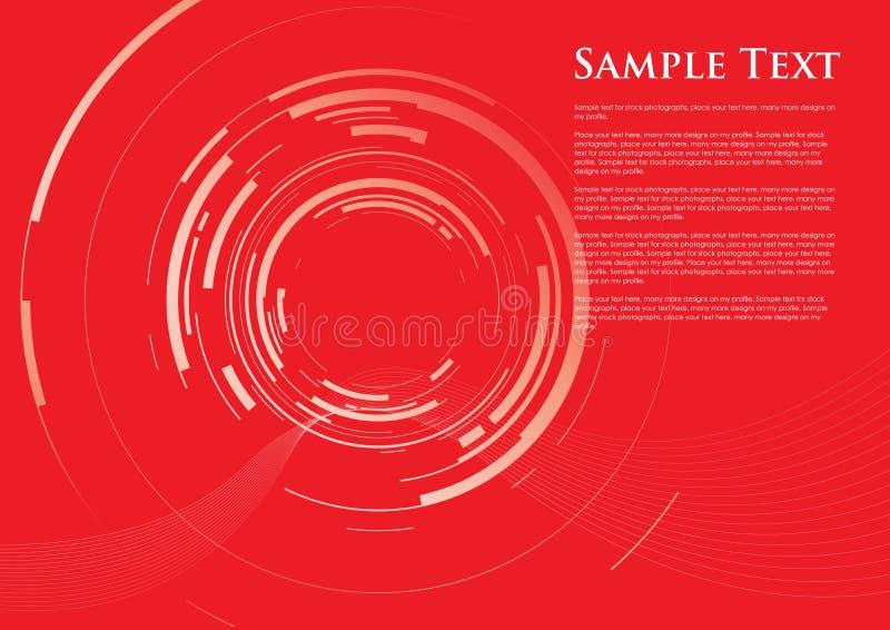 Abstrakter Kameraobjektivhintergrund vektor abbildung