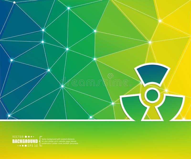 Abstrakter kreativer Konzeptvektorhintergrund für Netz und bewegliche Anwendungen, Illustrationsschablonendesign, Geschäft lizenzfreie abbildung