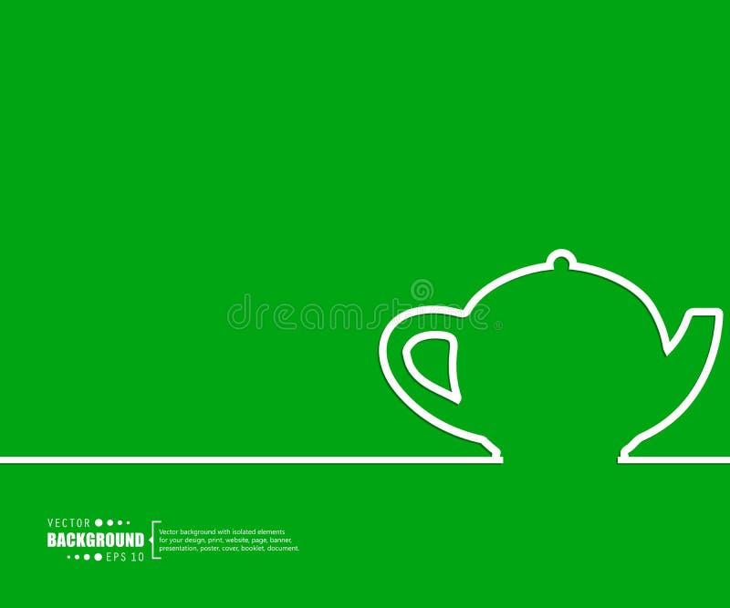 Abstrakter kreativer Konzeptvektorhintergrund für Netz und bewegliche Anwendungen, Illustrationsschablonendesign, Geschäft stock abbildung