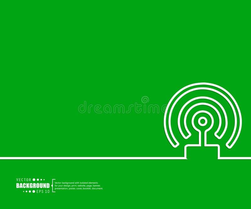 Abstrakter kreativer Konzeptvektorhintergrund Für Netz und bewegliche Anwendungen Illustrationsschablonendesign, Geschäft vektor abbildung
