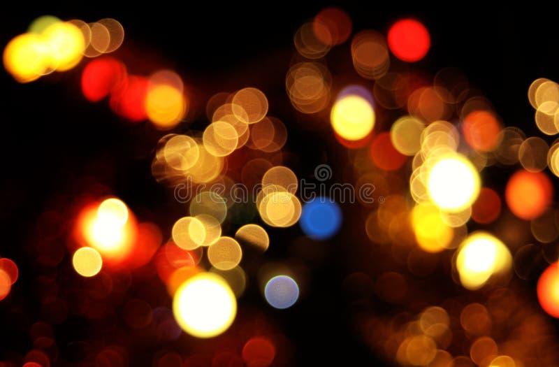 Abstrakter Kreisbokeh Hintergrund lizenzfreie stockfotografie
