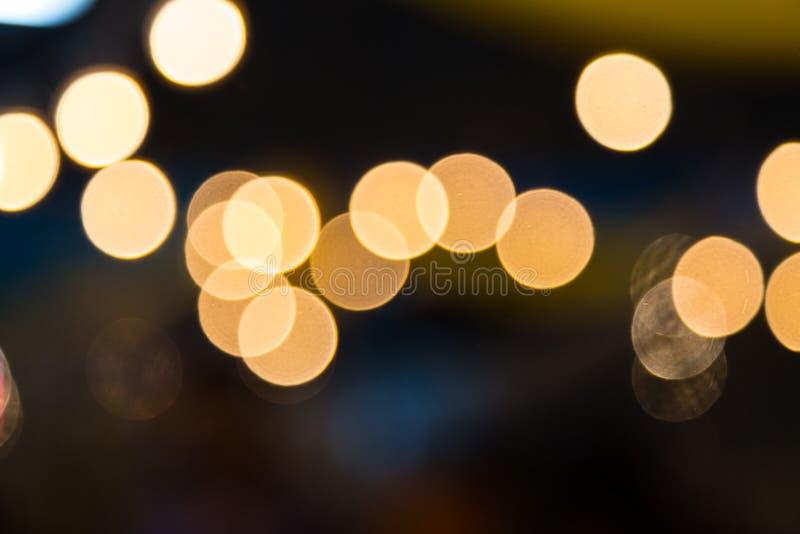 Abstrakter Kreisbokeh Hintergrund lizenzfreie stockbilder