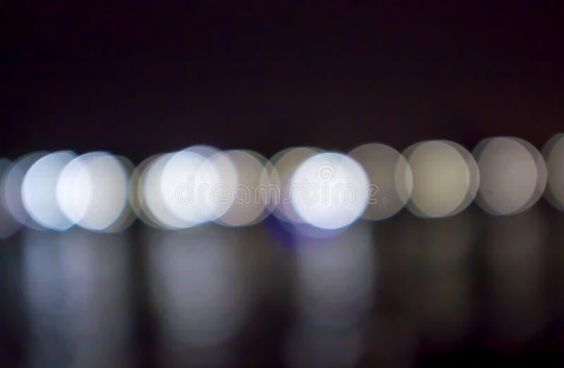 Abstrakter Kreisbokeh Hintergrund stockfoto