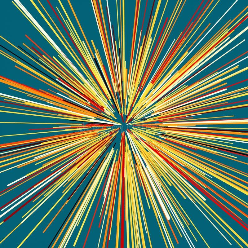 Abstrakter kreisf?rmiger geometrischer Hintergrund stockfoto