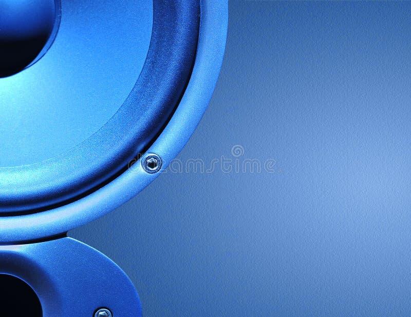 Abstrakter Lautsprecherhintergrund stockbilder