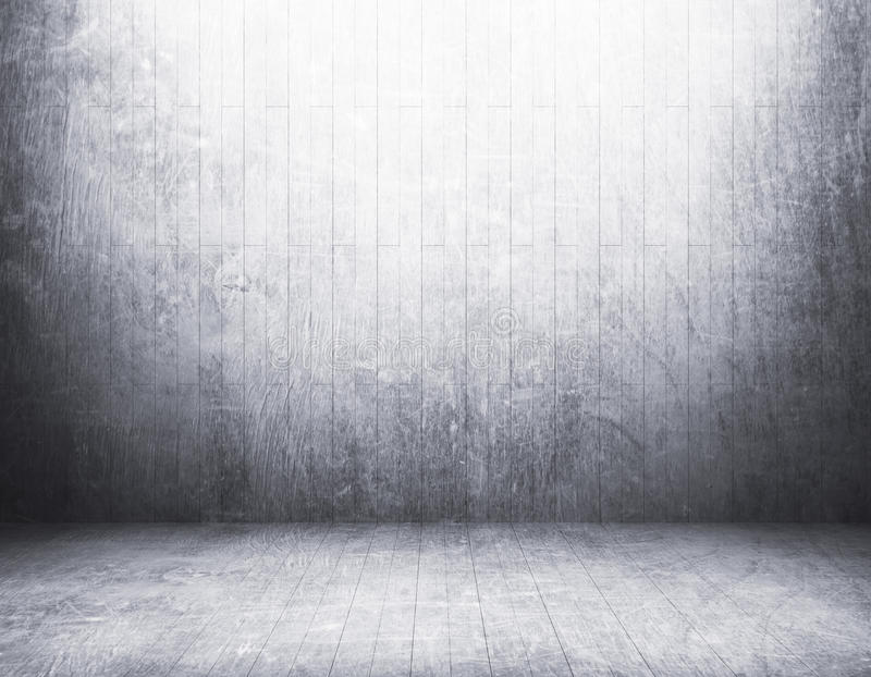 Abstrakter leerer schmutziger Raum stockfoto