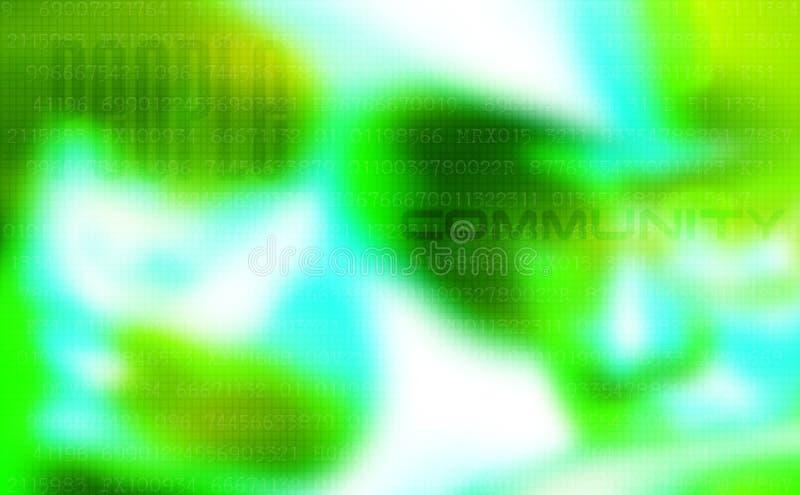 Abstrakter Leutehintergrund vektor abbildung