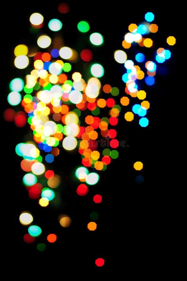 Abstrakter Lichteffekt stockbild