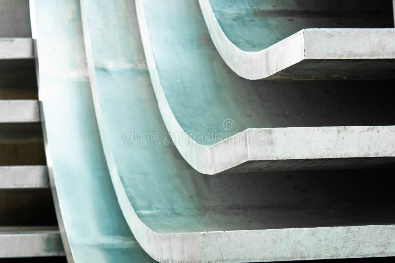 Abstrakter Metallhintergrund stockfotos