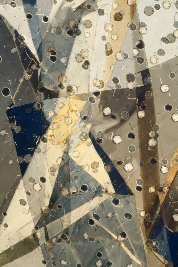 Abstrakter metallischer Hintergrund stockfotografie