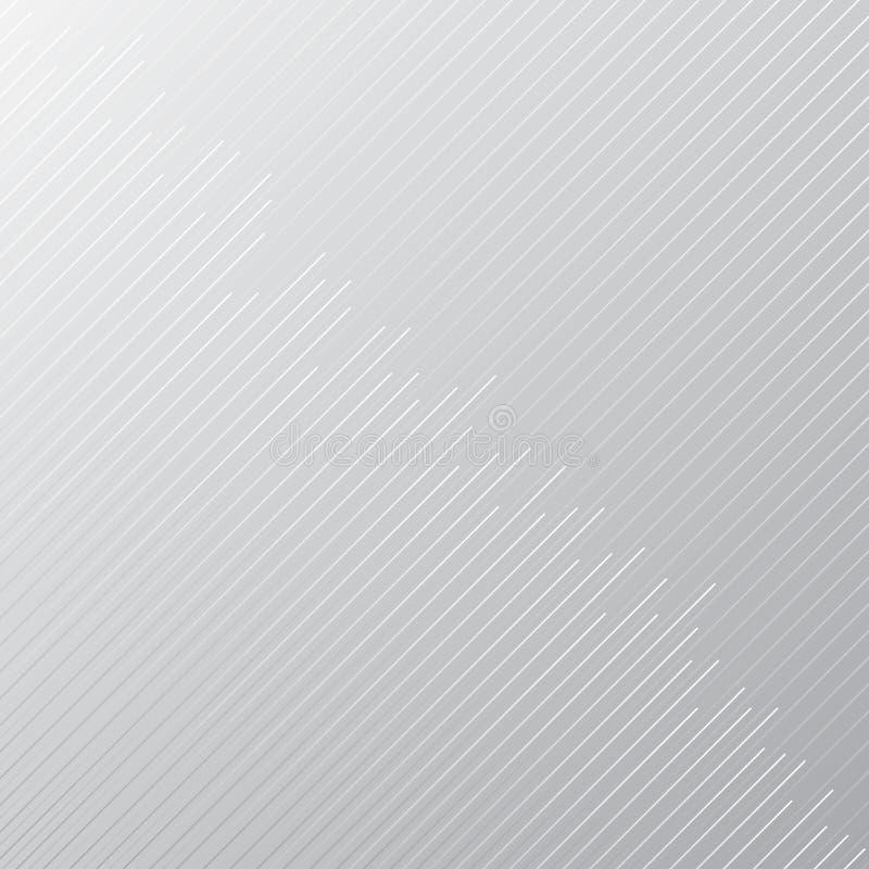 Abstrakter minimaler Designstreifen und diagonale Linien Muster auf gra vektor abbildung