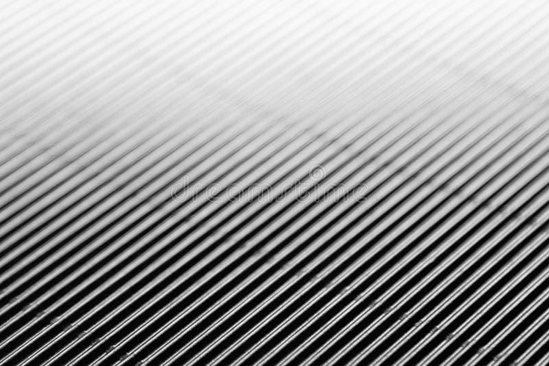 Abstrakter minimalistic weißer gestreifter Hintergrund mit diagonalen Linien und Titel stockbild
