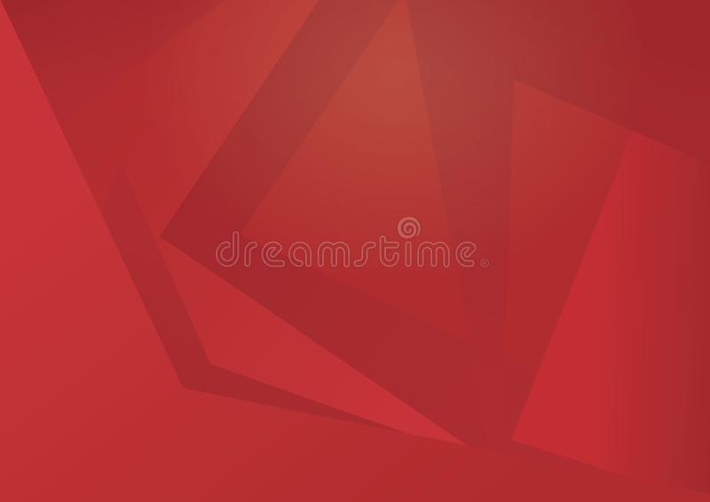 Abstrakter moderner gewundener roter Hintergrund lizenzfreie stockfotos