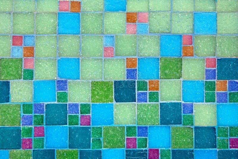 Abstrakter Mosaikhintergrund stockfotografie