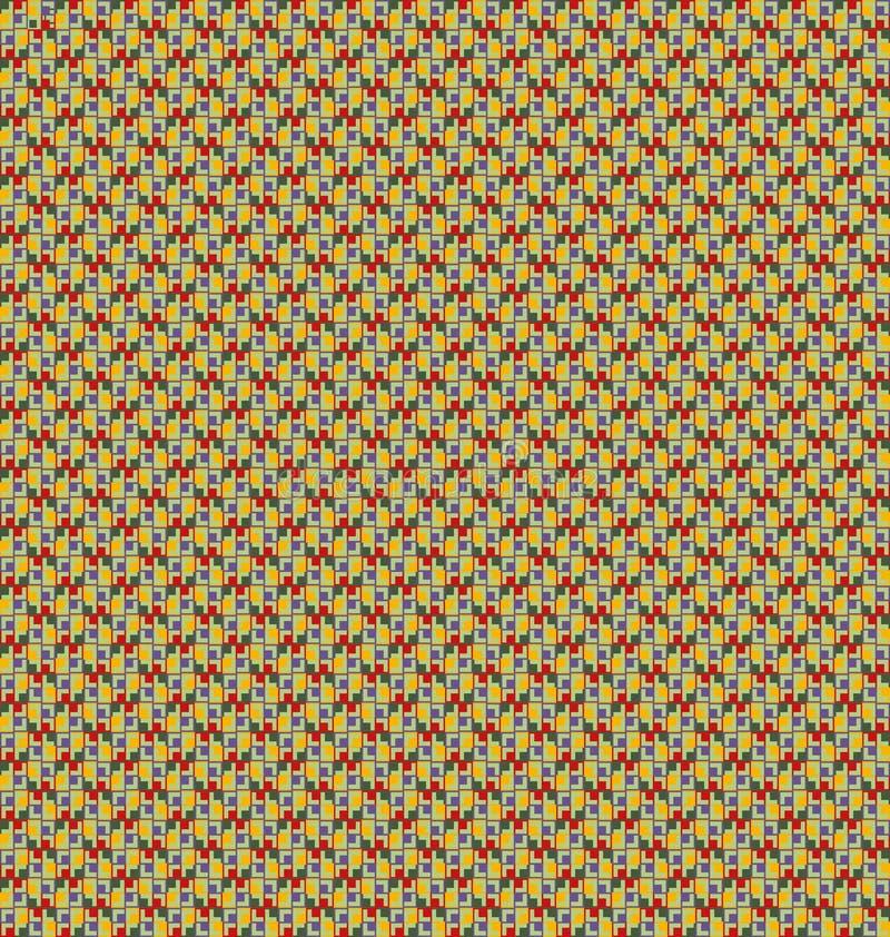 Abstrakter Mosaikhintergrund stock abbildung