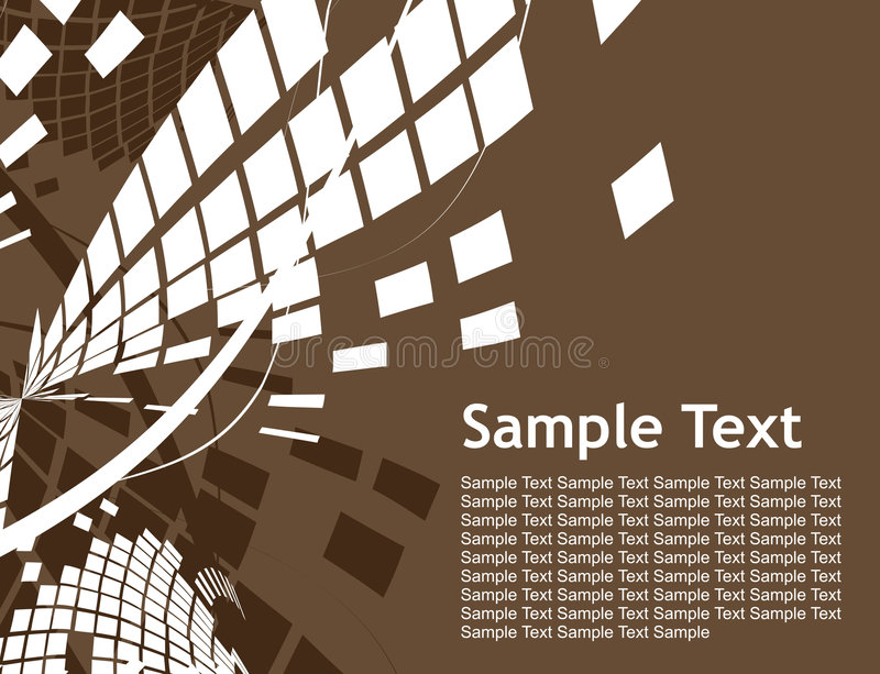 Abstrakter Mosaikhintergrund vektor abbildung