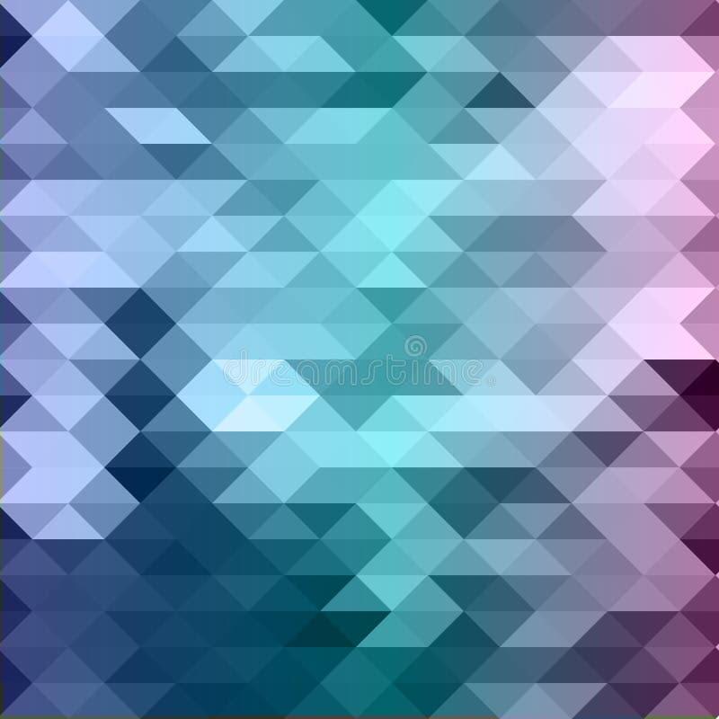 Abstrakter Mosaikhintergrund lizenzfreies stockbild