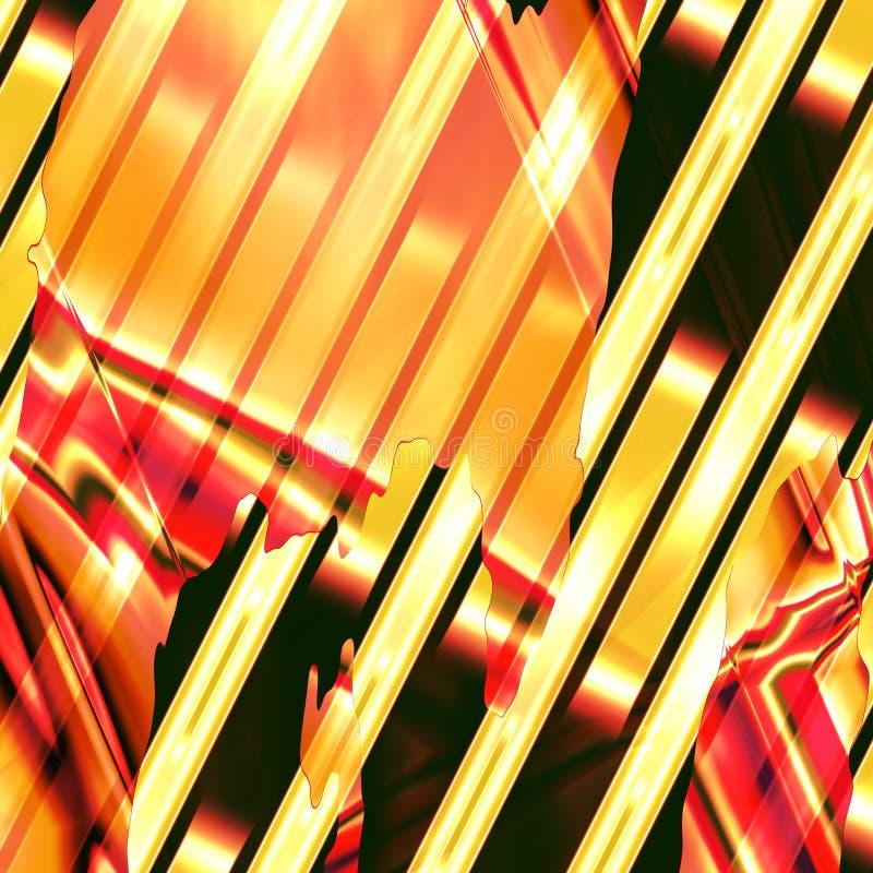 Abstrakter Multi Farbgoldhintergrund Stockfotografie