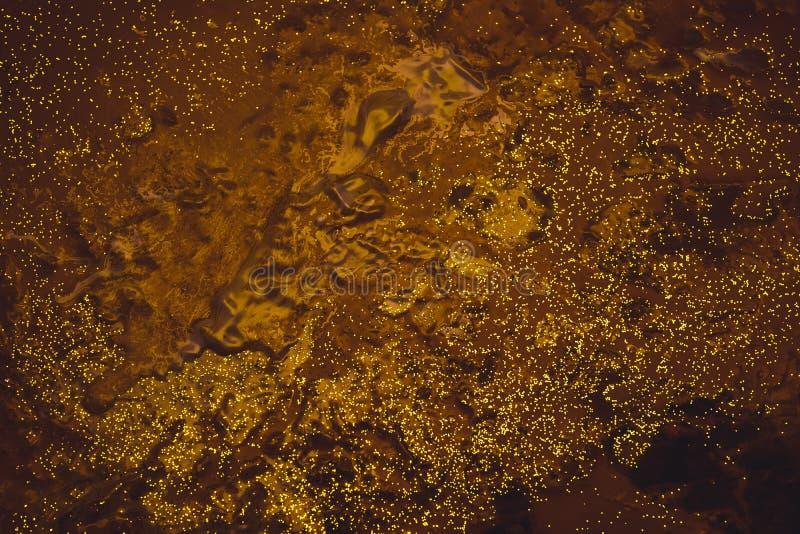 Abstrakter Nachtvogelperspektivebraun-Farbenhintergrund lizenzfreies stockbild