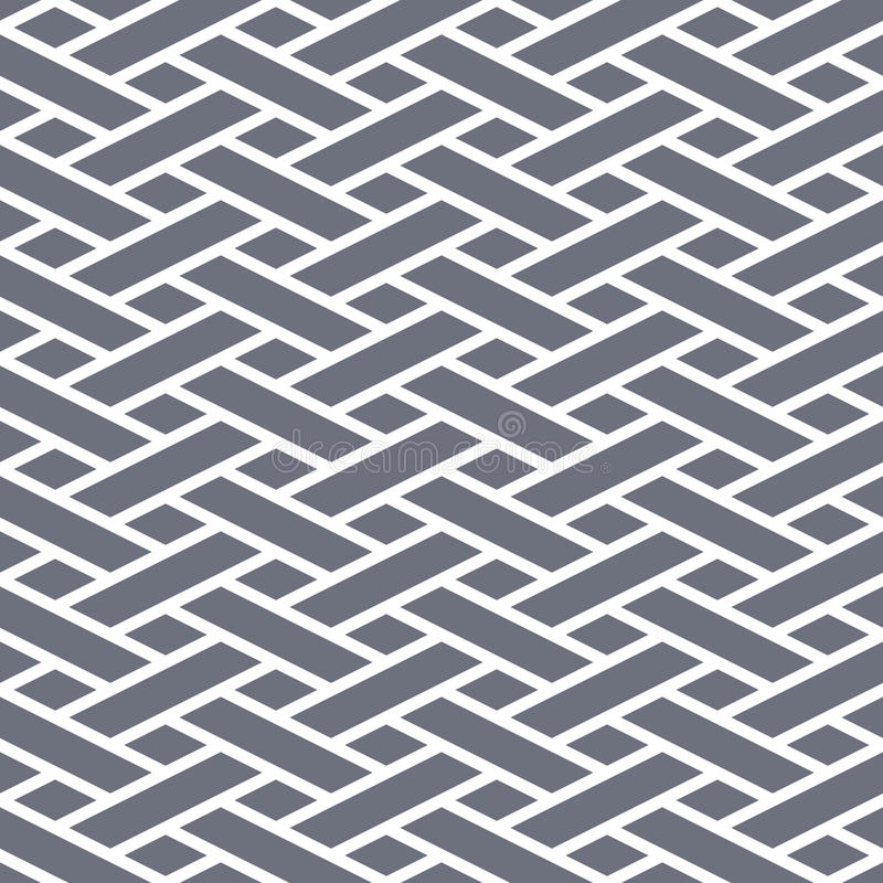 Abstrakter nahtloser geometrischer Hintergrund vektor abbildung