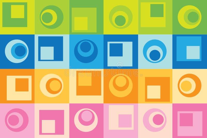 Abstrakter nahtloser Hintergrund lizenzfreie abbildung