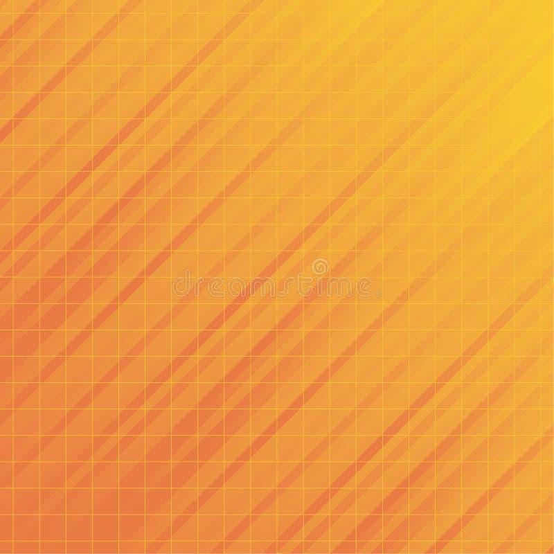 Abstrakter orange Leuchte-Hintergrund stock abbildung