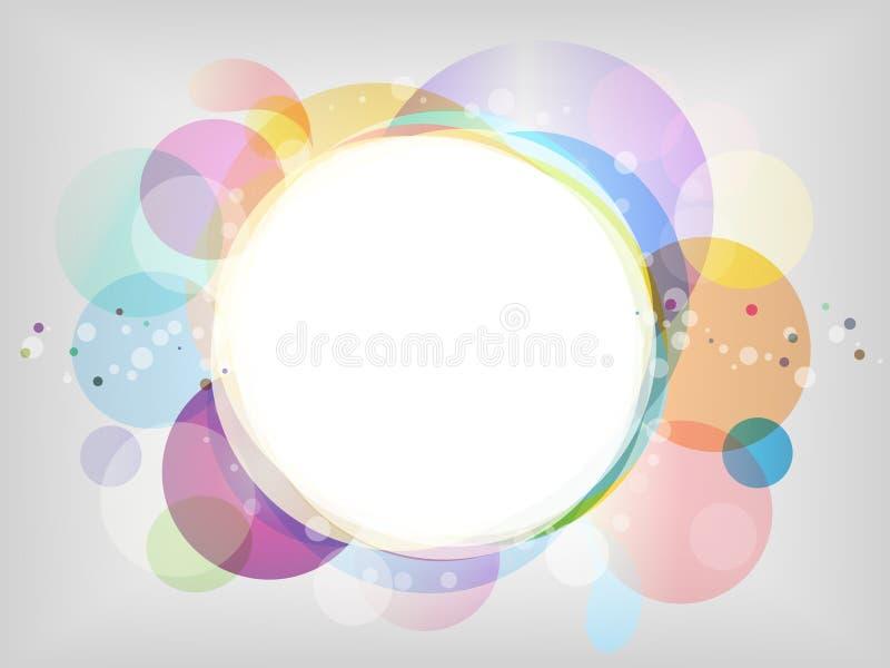 Abstrakter Pastellhintergrund stock abbildung