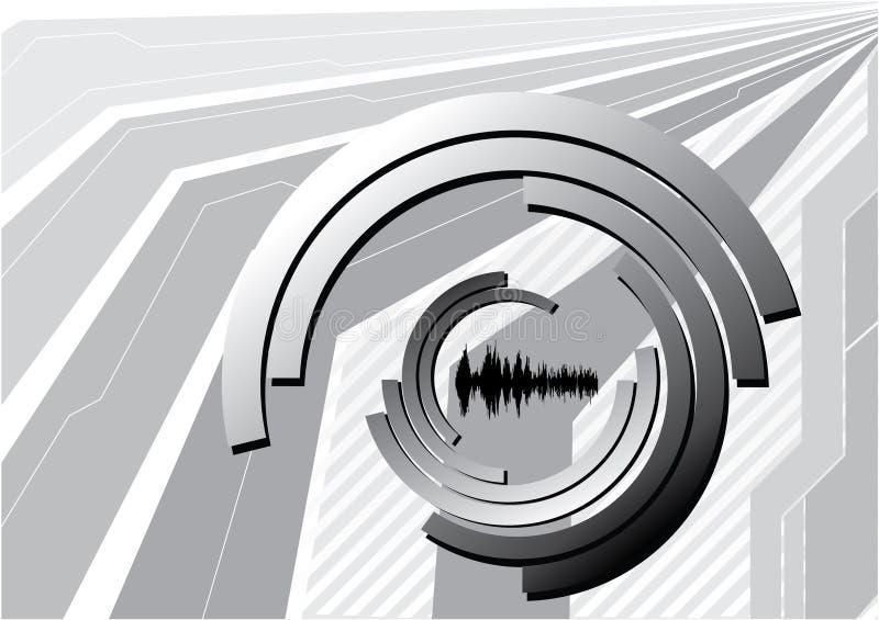 Abstrakter Perspektivevektor vektor abbildung