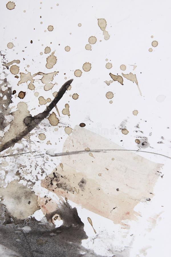Abstrakter Pinselanstrich stockfotografie