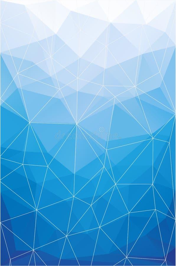 Abstrakter polygonaler Hintergrund lizenzfreie abbildung