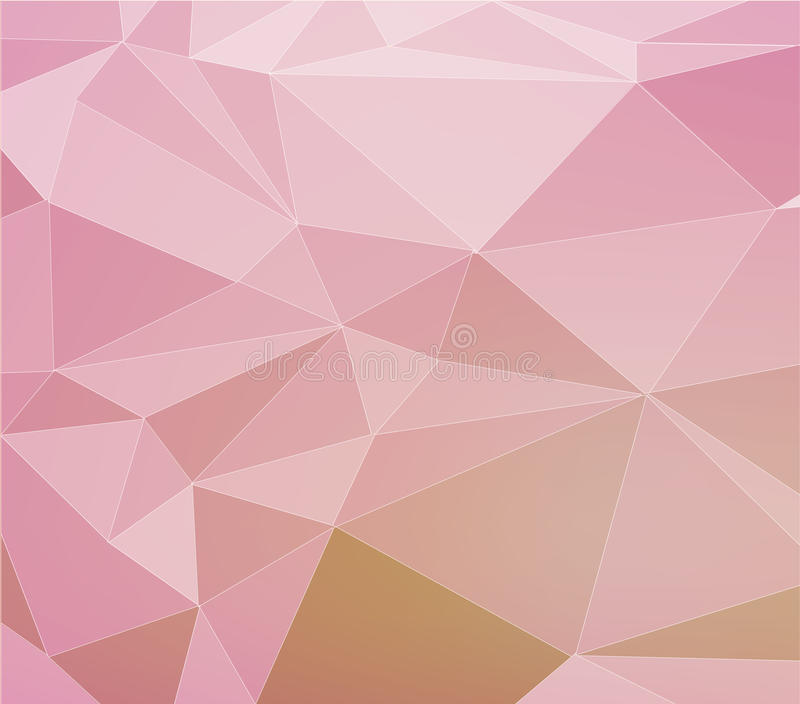 Abstrakter polygonaler Hintergrund stock abbildung