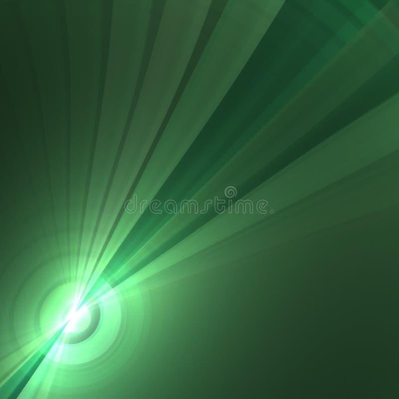 Abstrakter Radialhintergrund vektor abbildung
