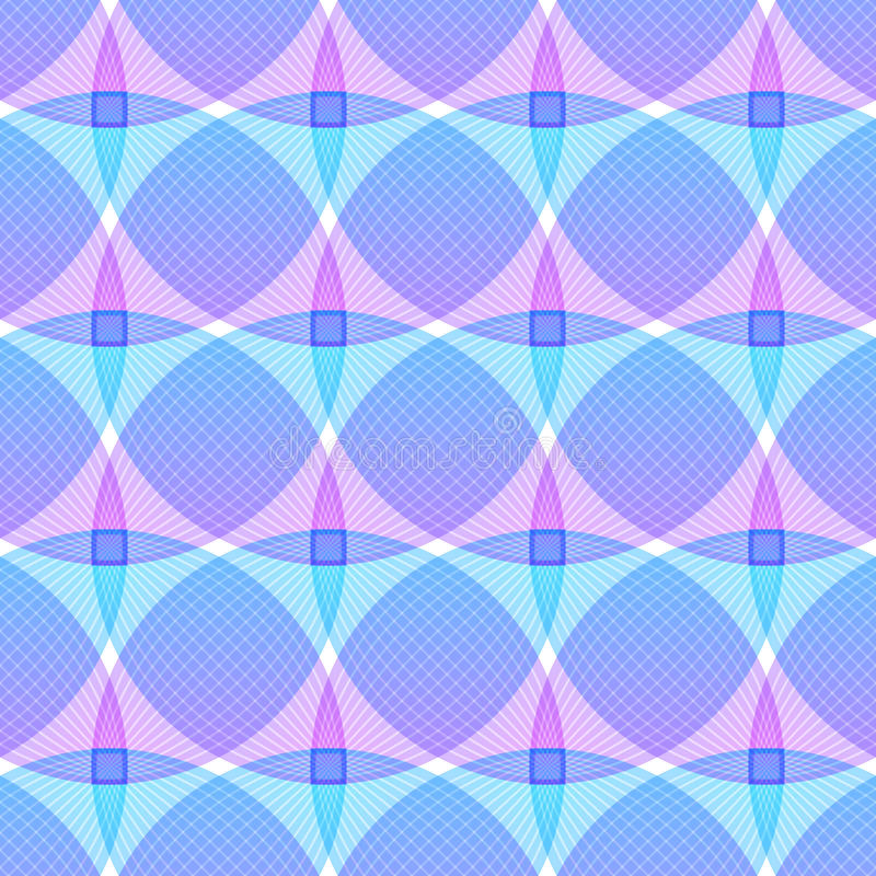 Abstrakter rosa blauer Hintergrund, geometrische Formen lizenzfreie abbildung