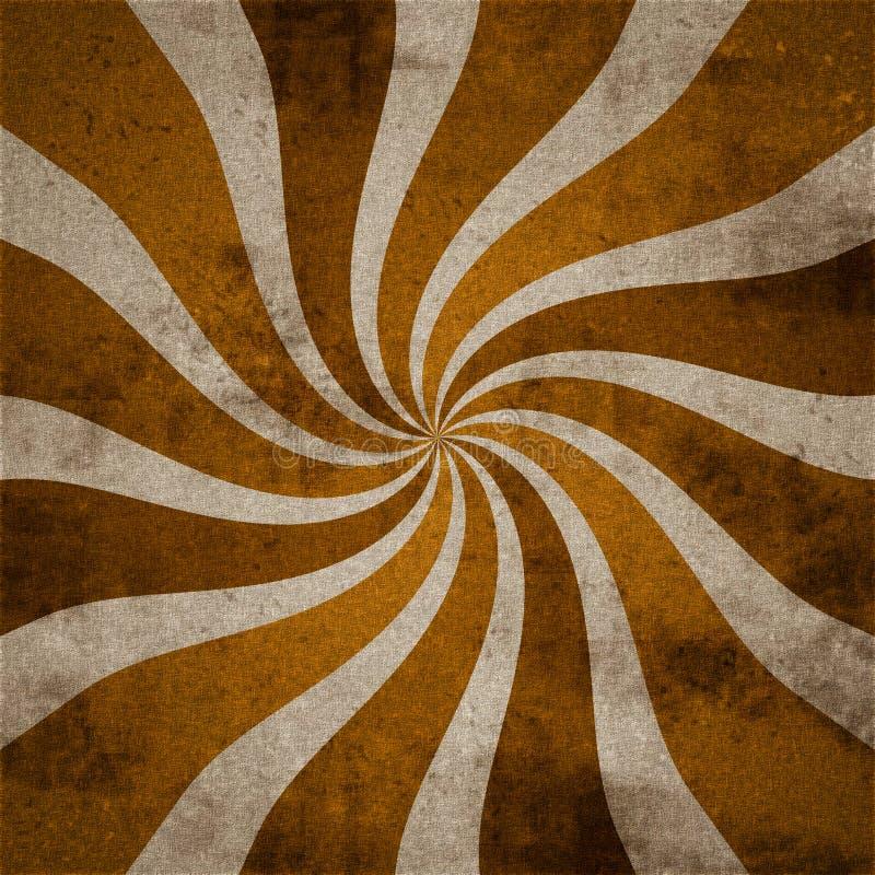 Abstrakter Rotationhintergrund stock abbildung