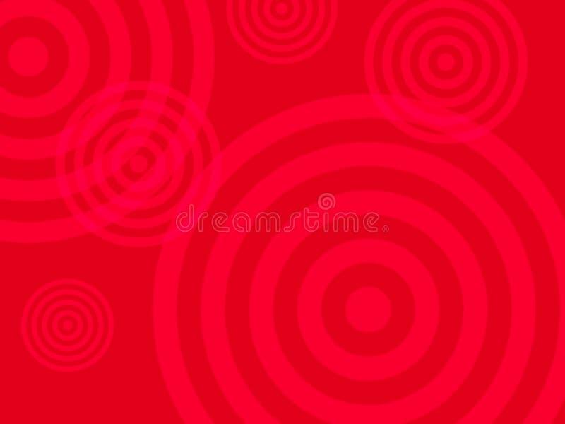 Abstrakter roter farbiger Hintergrund lizenzfreie abbildung