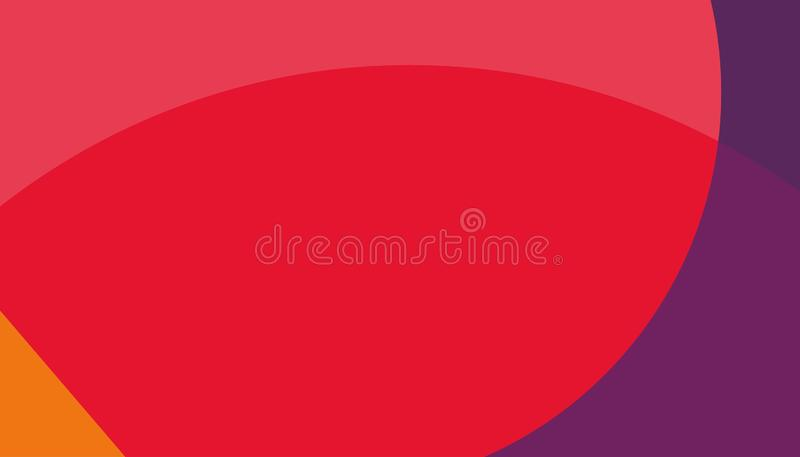Abstrakter roter Hintergrund blauer roter orange Hintergrund stock abbildung