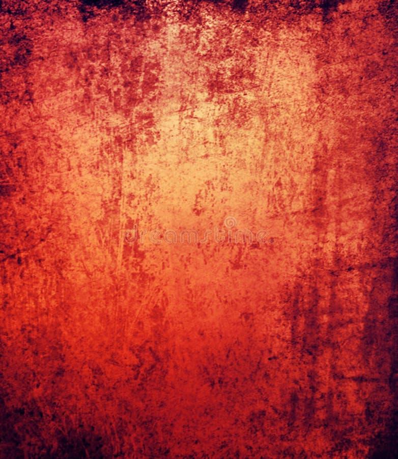 Abstrakter roter schwarzer Schmutzhintergrund stockbild