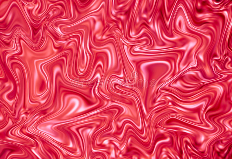 Abstrakter roter und weißer Hintergrund Digitale Illustration der Marmorbeschaffenheit lizenzfreie abbildung