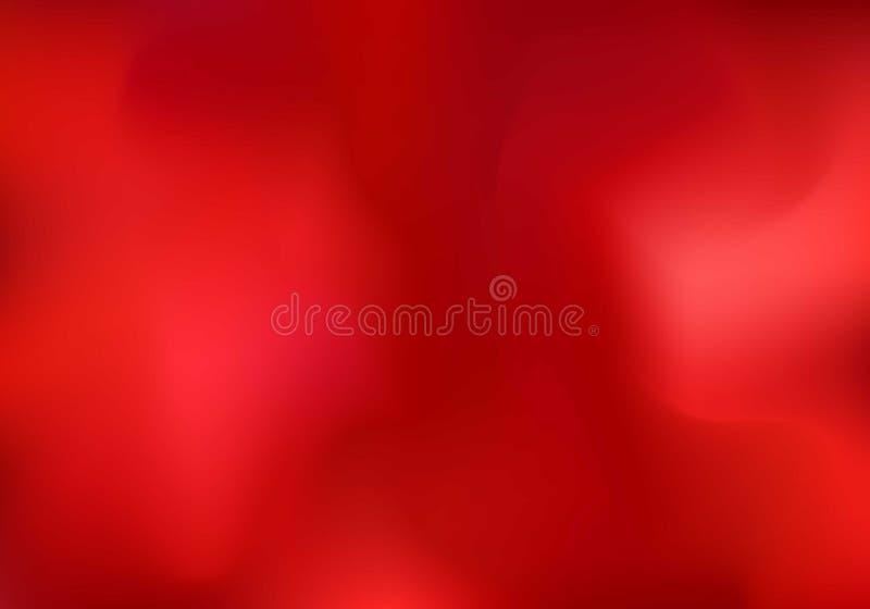 Abstrakter roter Wolken- oder Rauchhintergrund Unscharfe horizontale Schablone der Steigung können Sie für Tapete, Fahnennetz, Da stock abbildung
