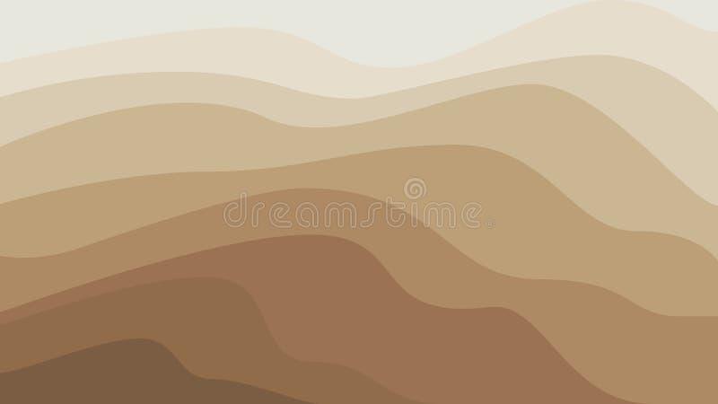 Abstrakter sandiger Hintergrund stock abbildung