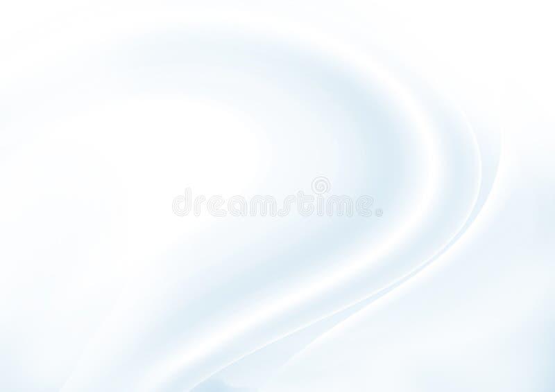 Abstrakter schöner weicher blauer Hintergrund vektor abbildung